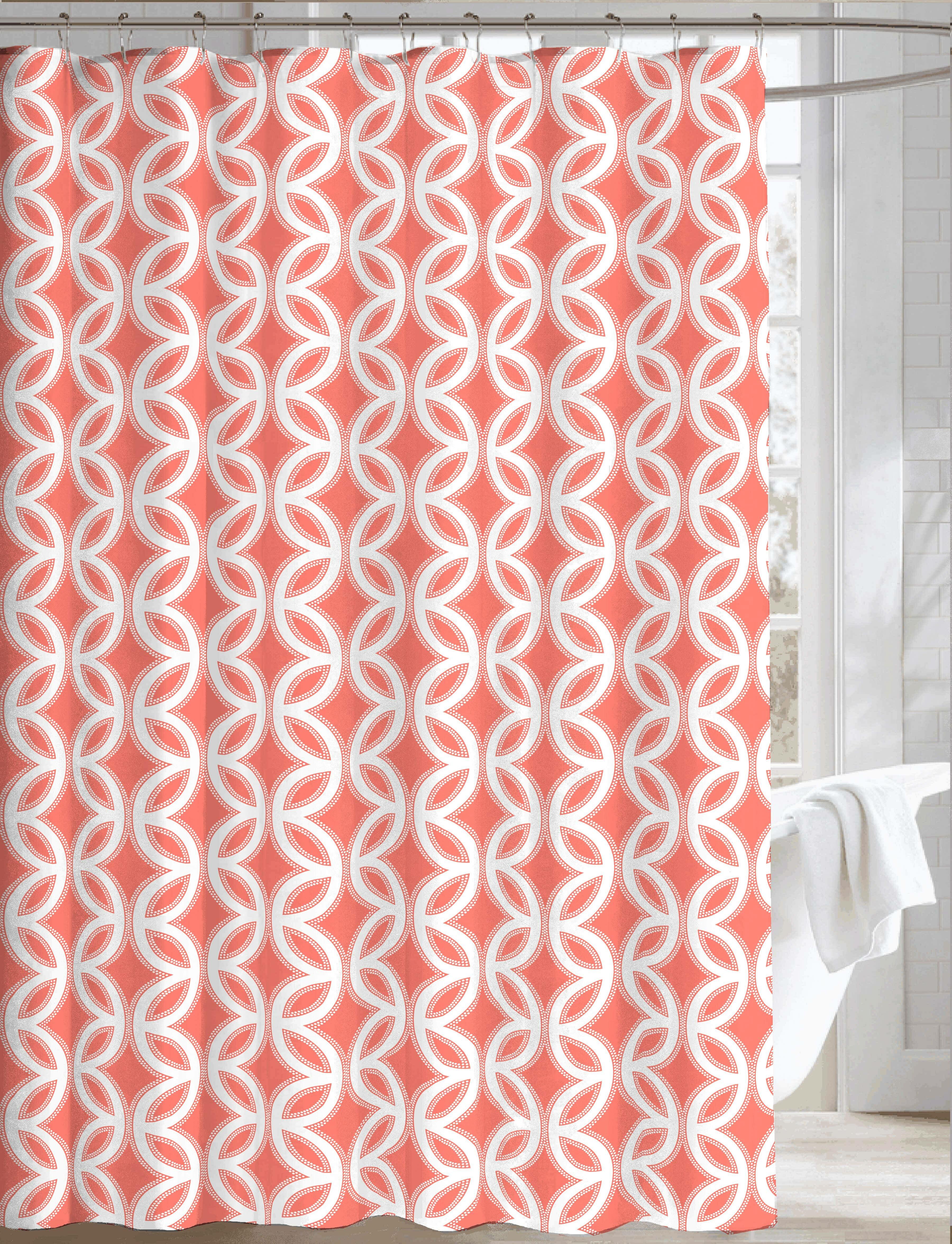 Ben And Jonah Royal Fabric Shower Curtain