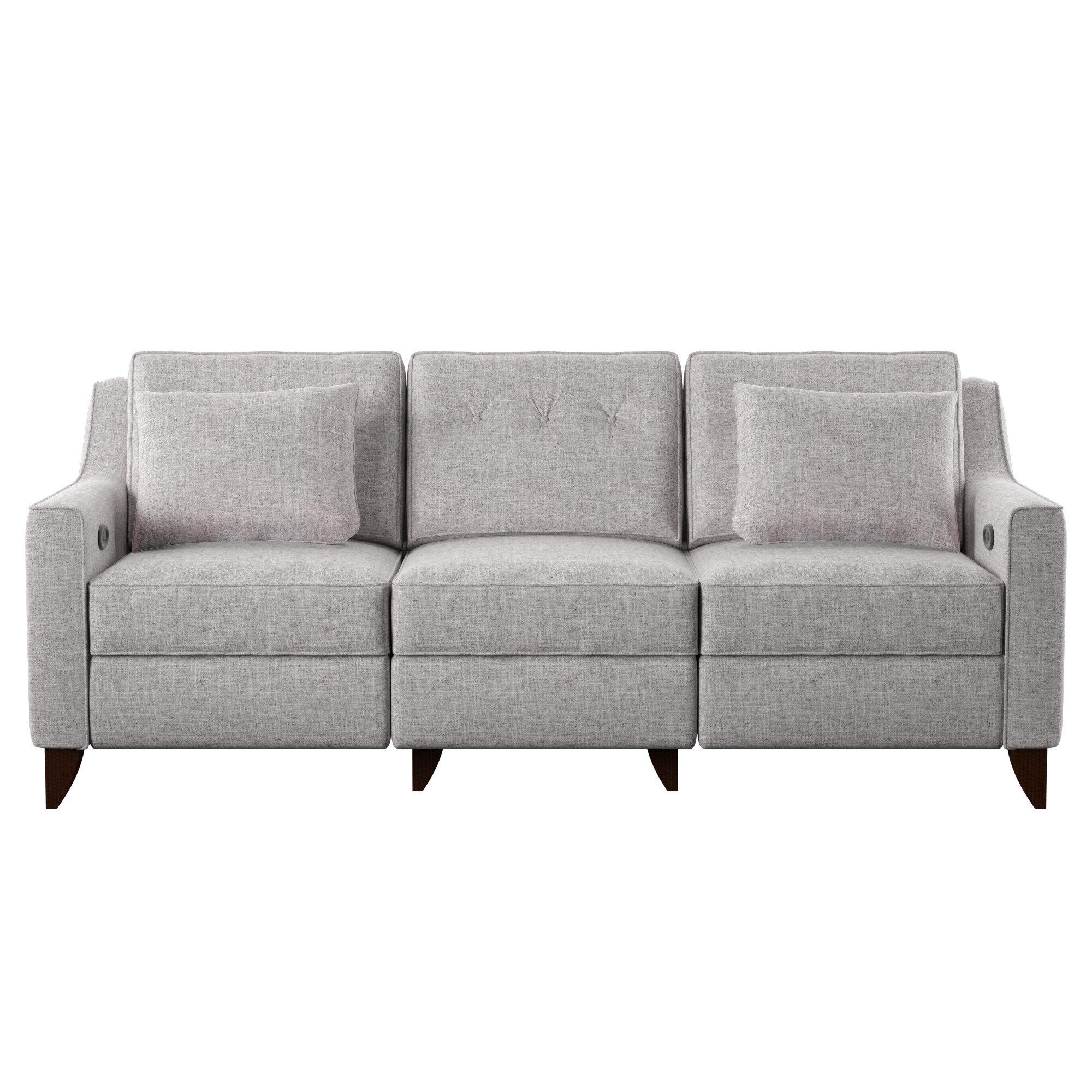 Magnificent Wayfair Custom Upholstery Logan Reclining Sofa Reviews Unemploymentrelief Wooden Chair Designs For Living Room Unemploymentrelieforg