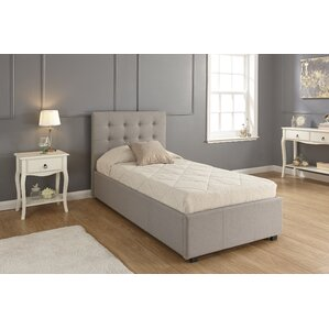 adhafera upholstered ottoman bed frame