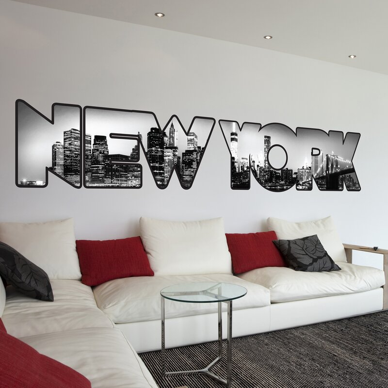 WallPops! Home Decor Line New York Wall Decal & Reviews