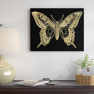 Butterfly 2 Graphic Art On Wrapped Canvas