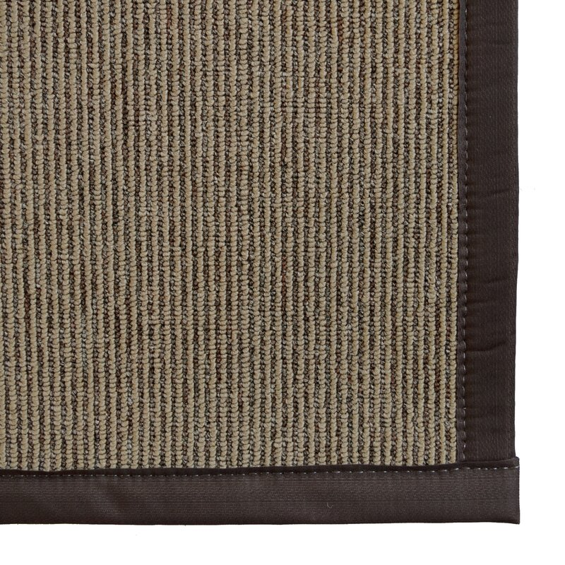 Imagine Rugs Marica Synthetic Sisal Chocolate Area Rug