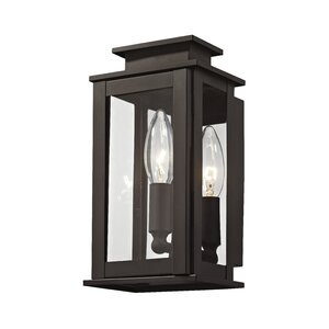 Solid copper outdoor light wayfair farmingdale 1 light solid brass outdoor flush mount mozeypictures Image collections