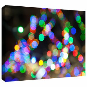 'Bokeh 1' by Cody York Graphic Art on Wrapped Canvas