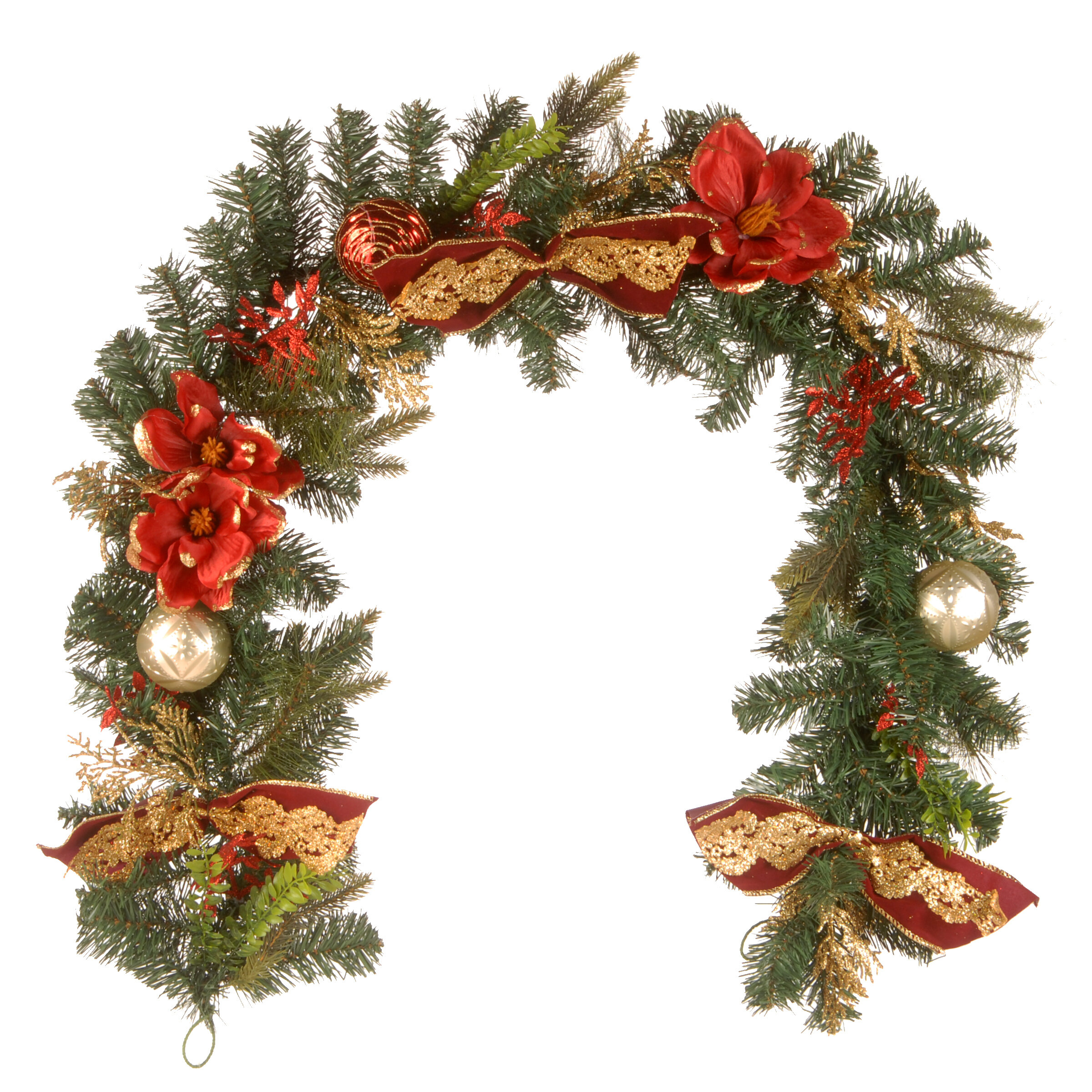 The Holiday Aisle Decorated Garland Wayfair