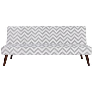 Janiyah Chevron Convertible Sofa by Zipcode Design
