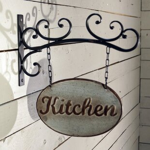 Delicieux Metal Kitchen Sign Wall Decor