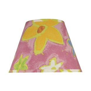 Floral lamp shades youll love wayfair transitional hardback 13 fabric empire flowers lamp shade mightylinksfo