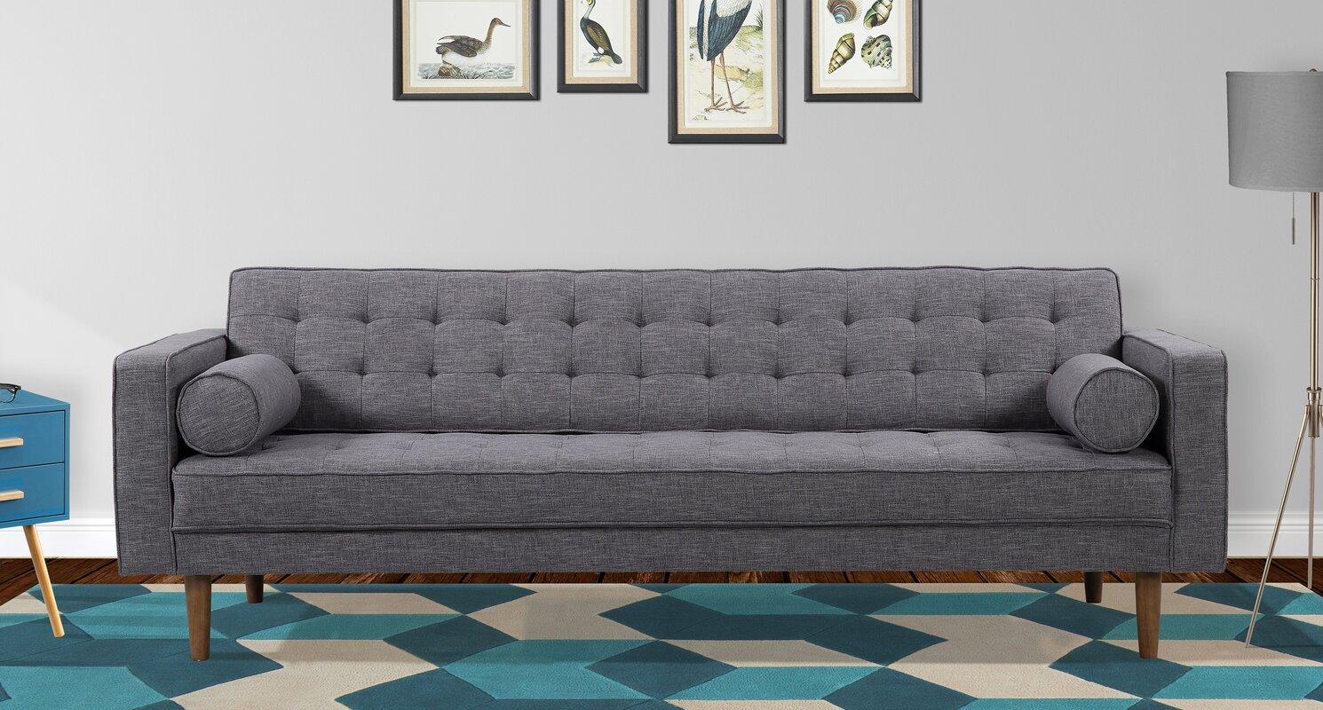 Corrigan Studio Nietos Mid Century Modern Sofa Reviews Wayfair