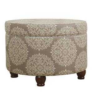 Denning Medallion Storage Ottoman by Ophelia..