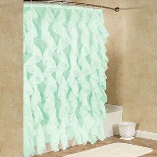 Sea Foam Green Shower Curtain