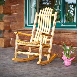 Loon Peak Abordale Rocking Chair