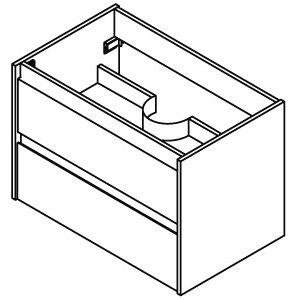 Fackelmann 80 cm Waschtisch-Set