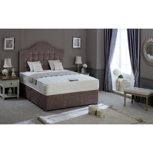Tarquin Coilsprung and Memory Foam Divan Bed By Home & Haus