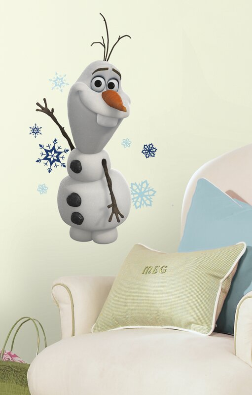 Popular Characters Frozen Olaf The Snowman Wall Decal