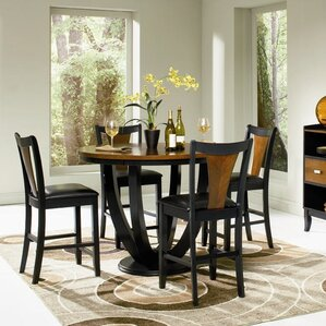 Sarris Round Counter Height Dining Table by Bloo..