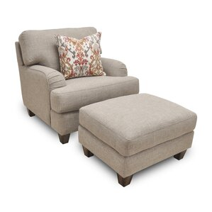 Oakford Matching Ottoman by Darby Home Co