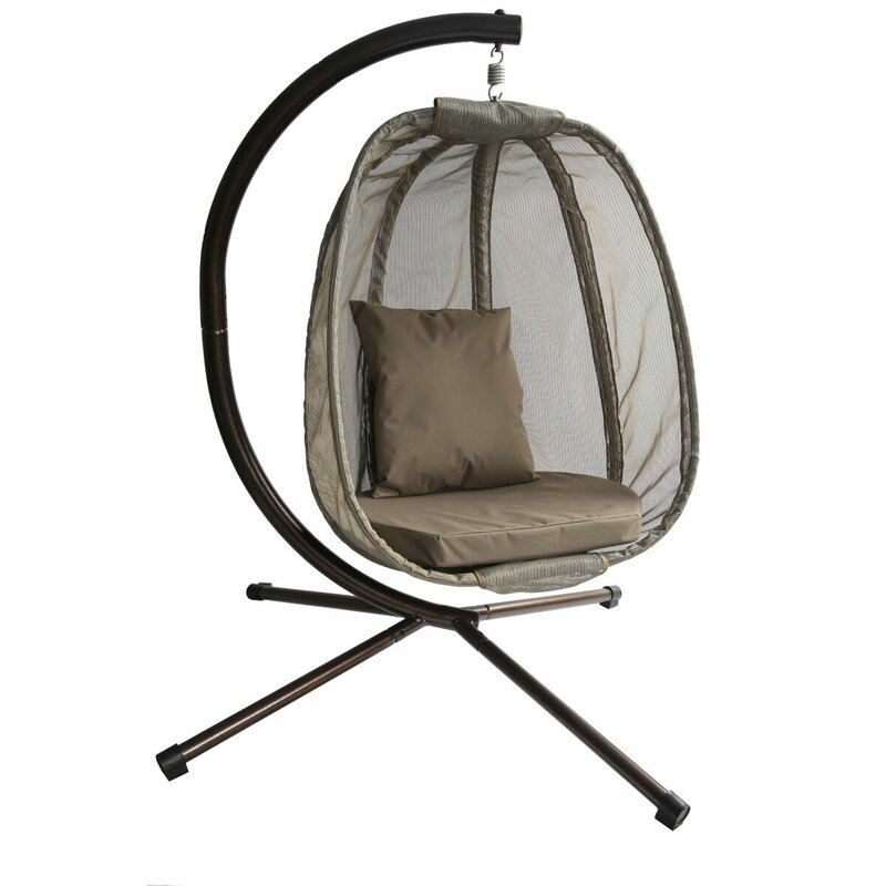 Egg Swing Chair With Stand