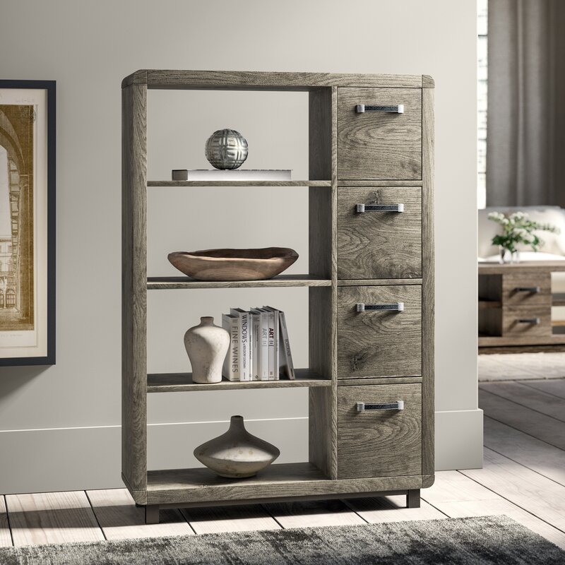 Greyleigh Jodi Standard Bookcase Amp Reviews Wayfair