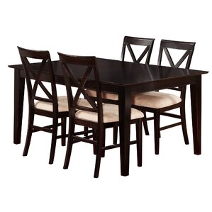 Crestwood 5 Piece Dining Set by Andover Mills