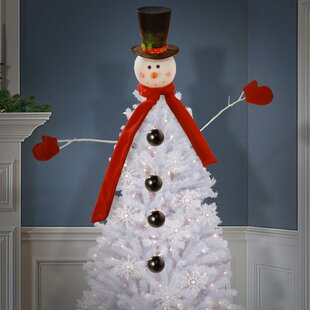 21 piece snowman kit tree dress up christmas ornament set - Snowman Christmas Tree Decorations