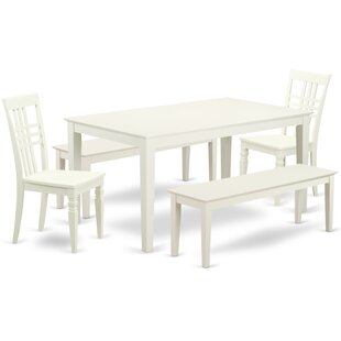 Smyrna 5 Piece Solid Wood Dining Set #2