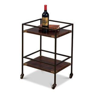 Miriam Industrial Bar Cart
