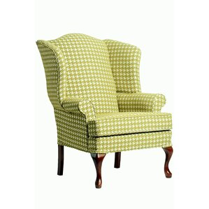 Josiah Wing Back Arm Chair by August Grove