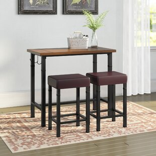 pub tables bistro sets you ll love wayfair rh wayfair com bar table set for kitchen bistro table set for kitchen