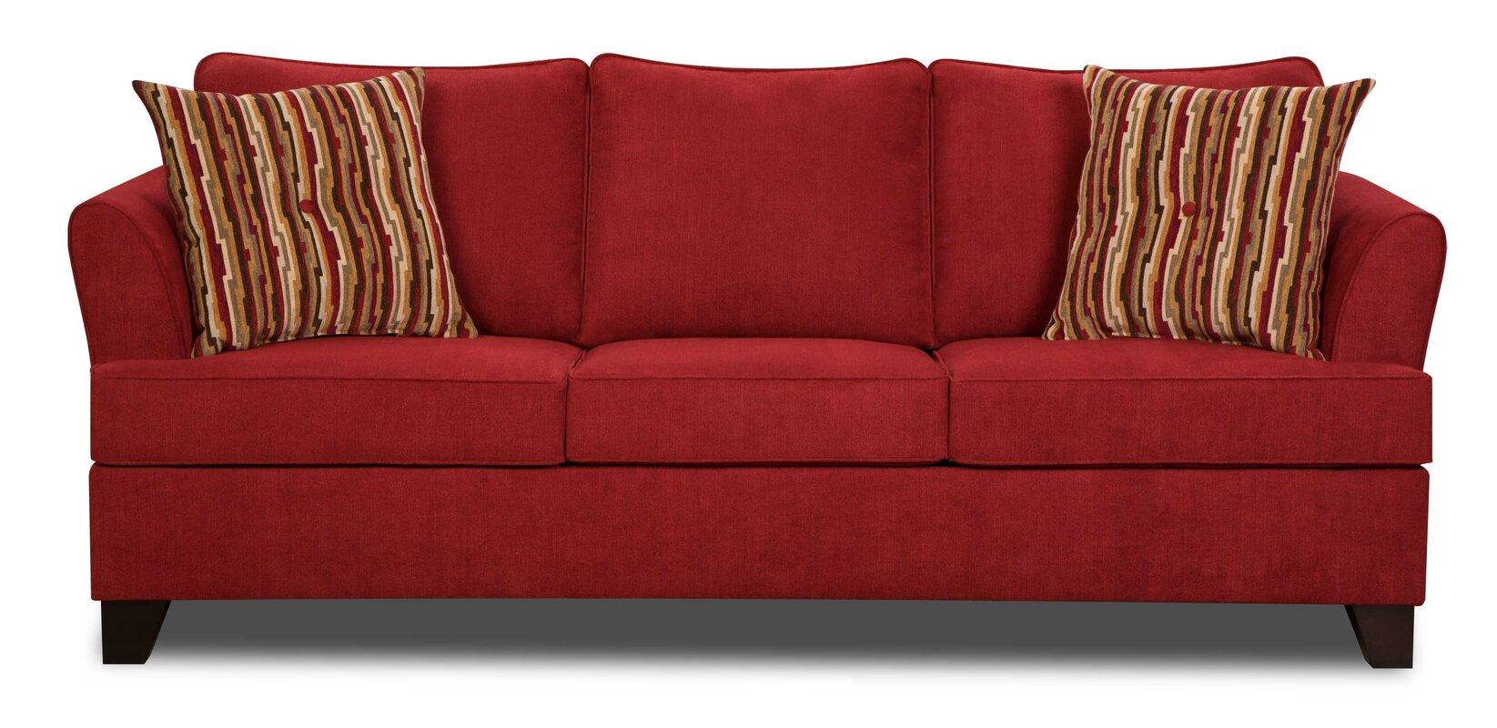 Red Barrel Studio Simmons Upholstery Antin Queen Sleeper Sofa