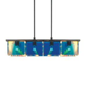 Dichroix 4-Light Pendant