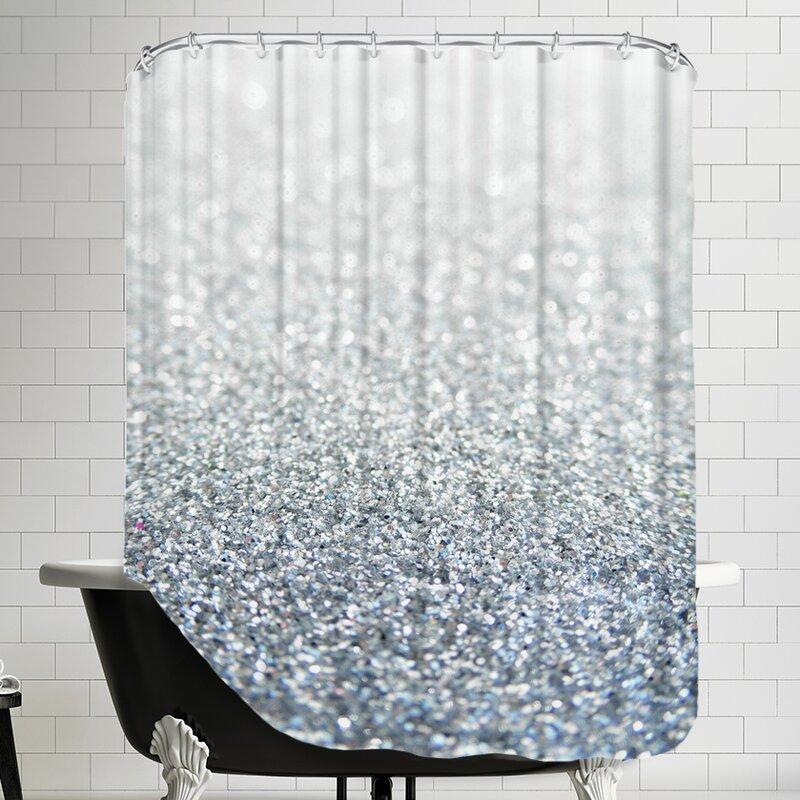 East Urban HomeShiny Shower Curtain