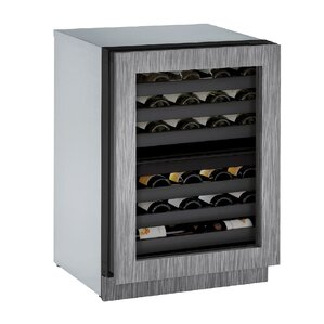 42 Bottle 3000 Series Dual Zone Built-in Wine Cellar by U-Line
