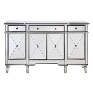 Loïc 3 Drawer 4 Door Cabinet