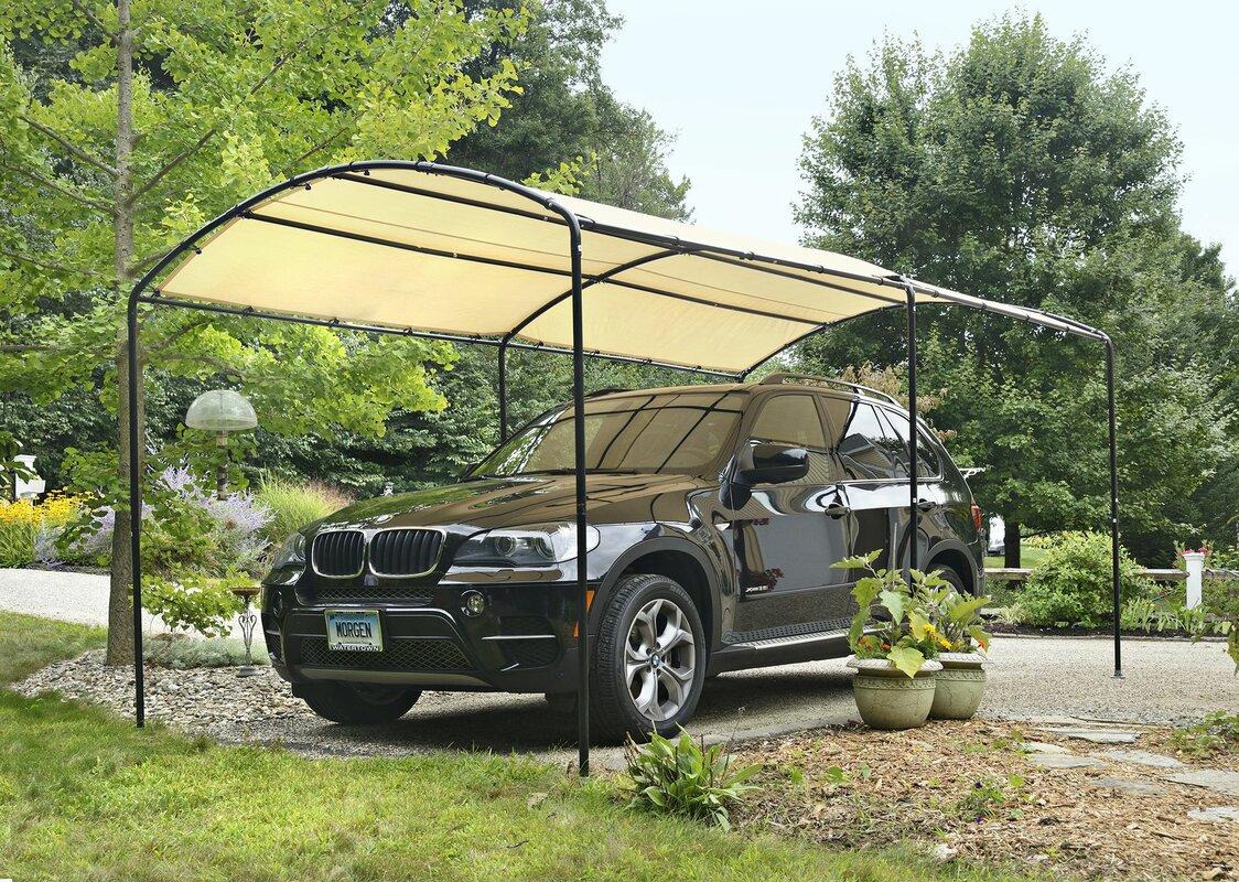Shelterlogic monarc 9 ft x 16 ft canopy reviews wayfair for Carport pro download