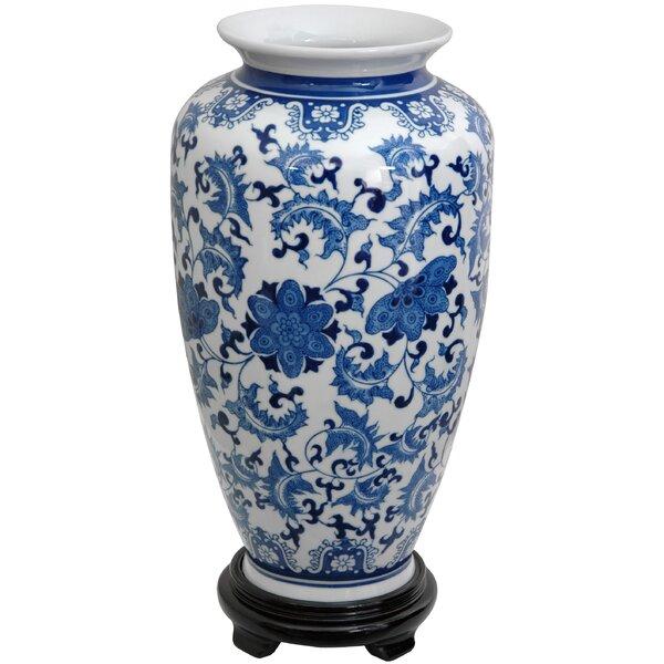Oriental Blue And White Vases Wayfair