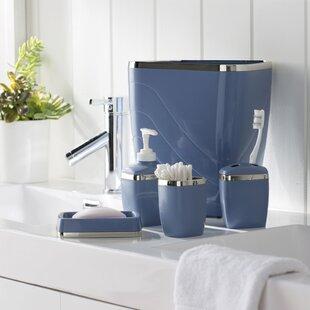 Tous les accessoires de salle de bain: Finition - Bleu | Wayfair.ca
