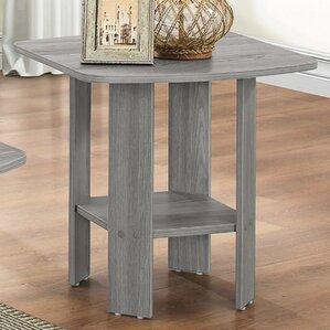 Sadiya Oak End Table by AC..