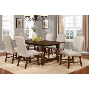 Ballwin 7 Piece Solid Wood Dining Set