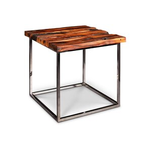 Carley End Table by Union Rustic