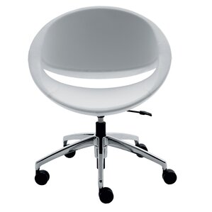 Mya Leather Lounge Chair by Borgo