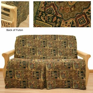 Bombay Box Cushion Futon Slipcover by Easy Fit