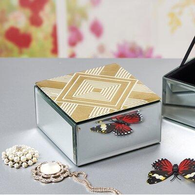 Freitag Wood/Glass Decorative Box Bloomsbury Market Customize: Diamond