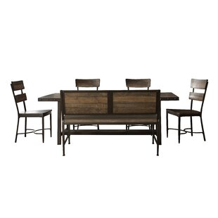 Putney 6 Piece Solid Wood Dining Set