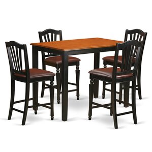 Yarmouth 5 Piece Counter Height Pub Table..