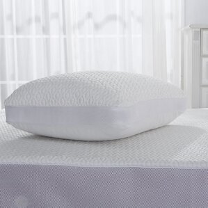 DreamLab Cooling Jacquard Pillow Protector with Mesh by Fresh Ideas