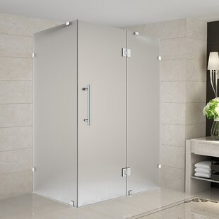 32 Inch Corner Shower Stall. Frosted Glass Shower Stalls  Enclosures You ll Love Wayfair