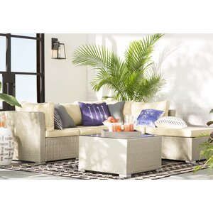Morrissey 5 Piece Seating Group with Cushion