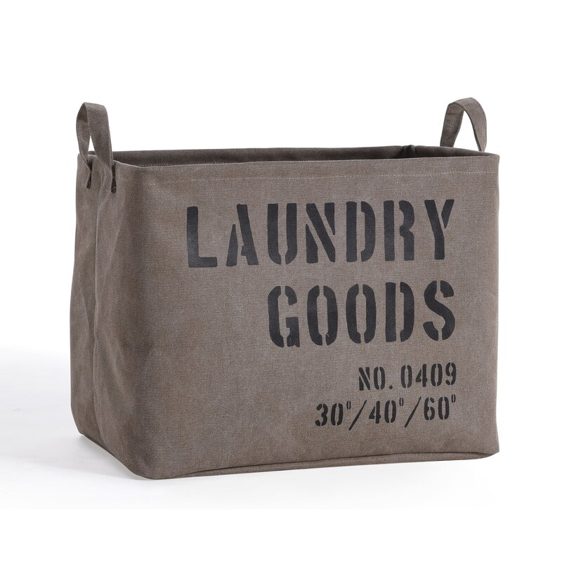 Canvas Laundry Bags. Great Diy Wire Hamper With Canvas ...