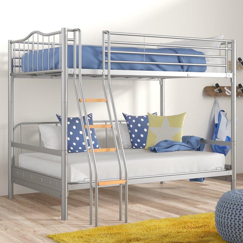 Just Kids Halkyn Single Futon Bunk Bed Reviews Wayfair Co Uk